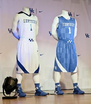 University of Kentucky uniforms
