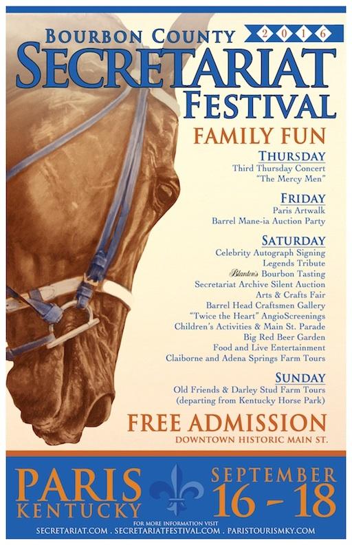 2016 Secretariat Festival Poster